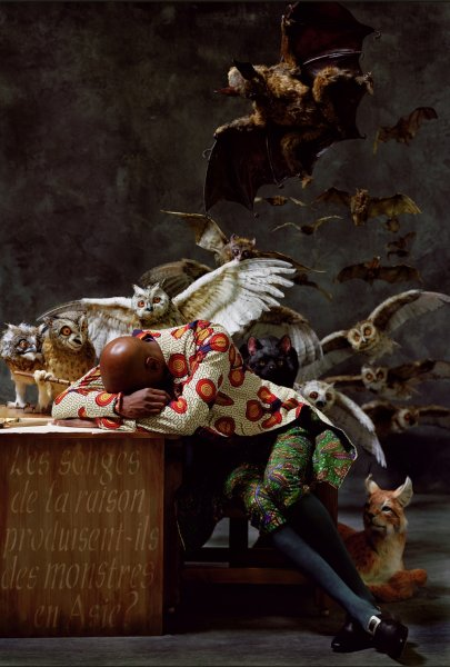 Yinka-shonibare-the-sleep-of-reason-produces-monsters